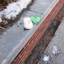 snowman mishap