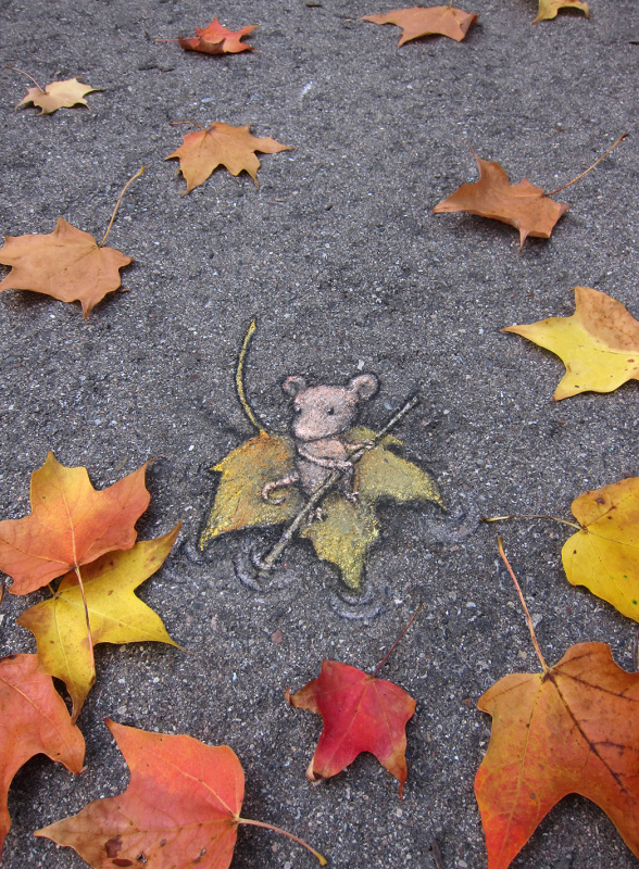 Original Street Art by David Zinn #artpeople
