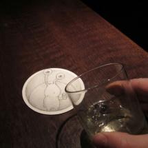 drinking with sluggo
