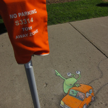 no parking sluggo