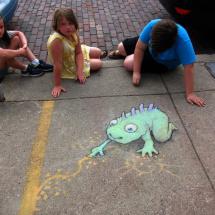 sidewalk artisaurus