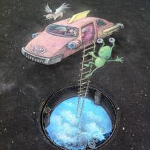 sluggos flying car