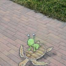 sea turtle fly sluggo