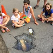 penguin otter meetup (Detroit Zoo)