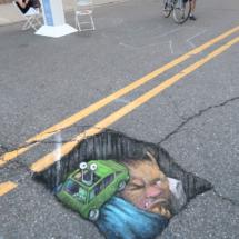 Pothole Mishap