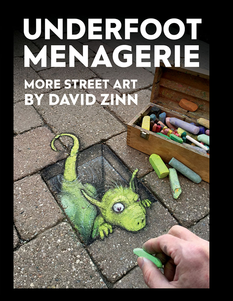 Underfoot Menagerie book cover